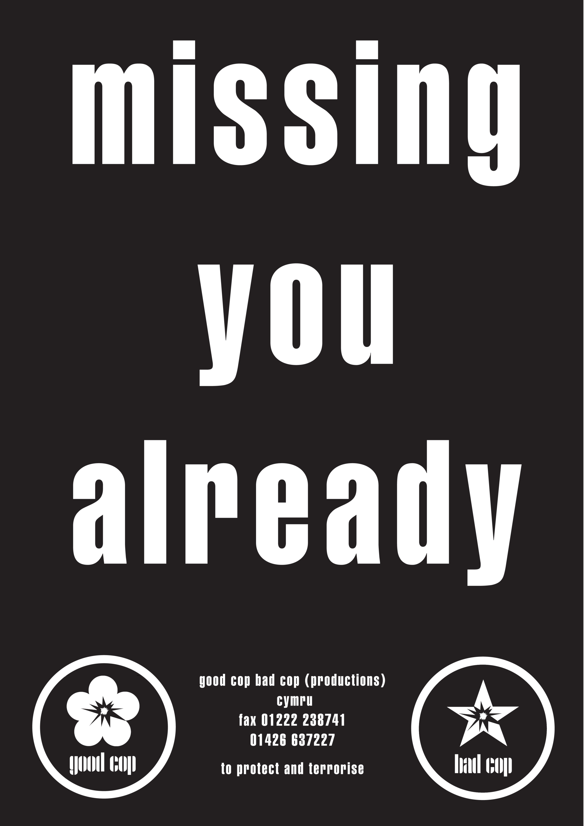 missing you already flyer copy